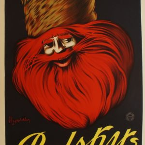 Affiche originale Vodka Relsky, 1910