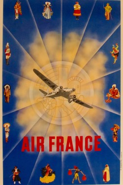 Affiche air France Chanove