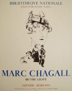 Affiche Marc Chagall