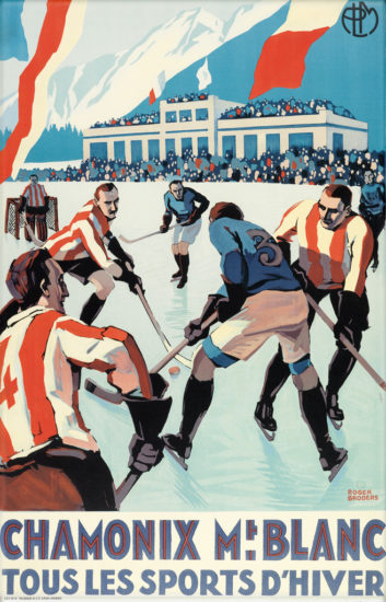 chamonix, hockey, Broders