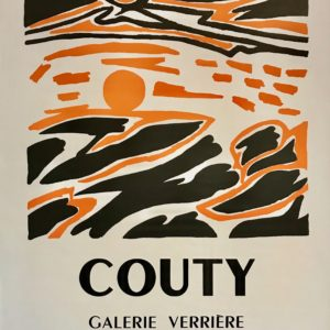 Affiche d'exposition, Couty