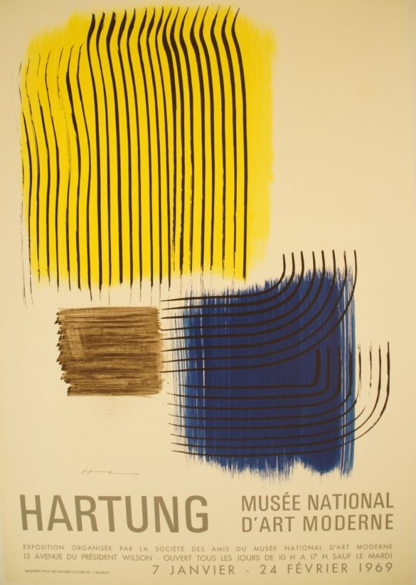 Hartung, musee National d'art moderne