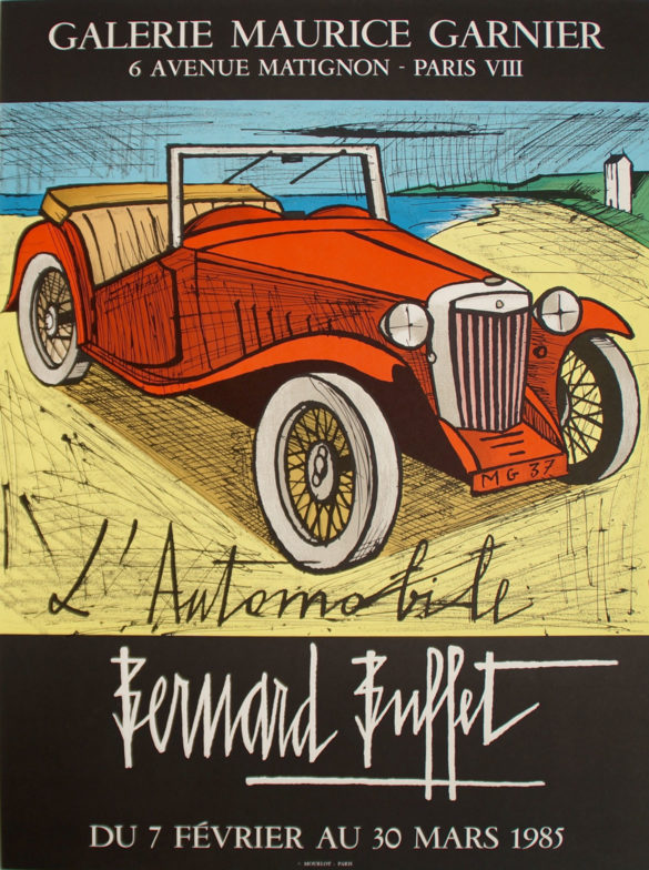 83085-Bernard-Buffet-L'automobile