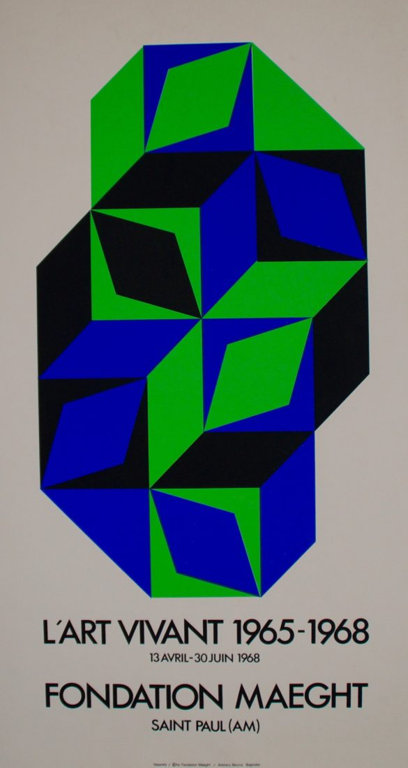 Vasarely, L'art vivant