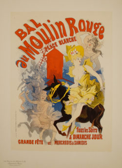 Jules Cheret moulin rouge