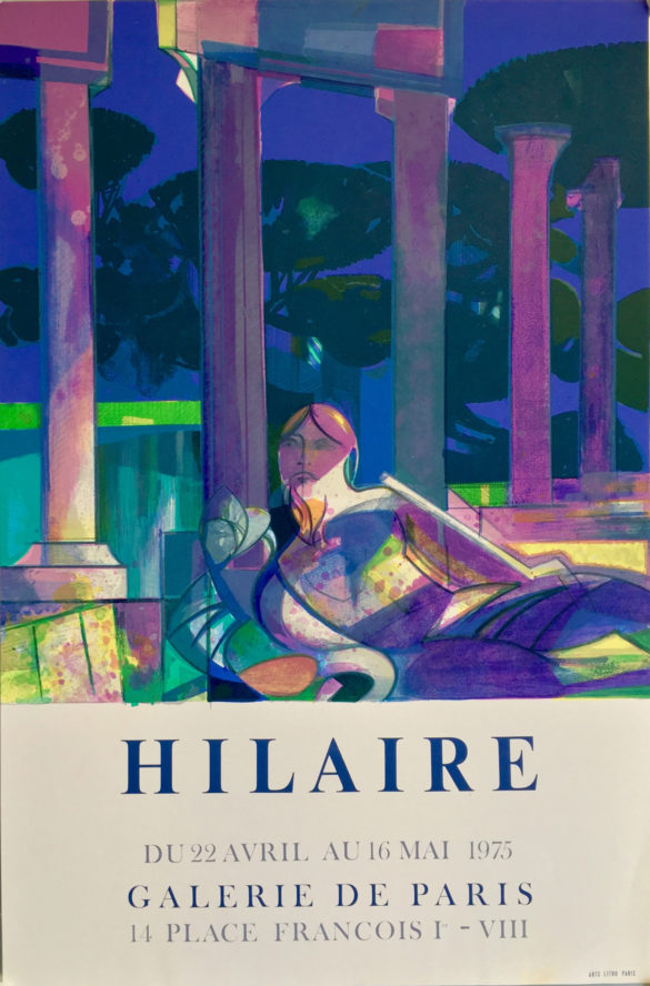 affiche galerie Hilaire