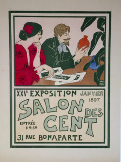 salon des cent affiche
