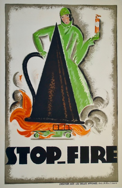 Stop fire charles loupot 1925