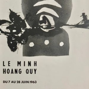 Vintage poster, Le Minh Hoang Quy