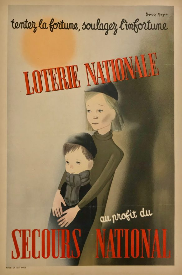 Loterie National secours Populaire