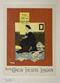 affiche ancienne maitre de l'affiche planche 79 : A.G. Morrow, The New Woman