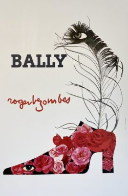 Affiche Bally Roger Bezombes Chaussure femme