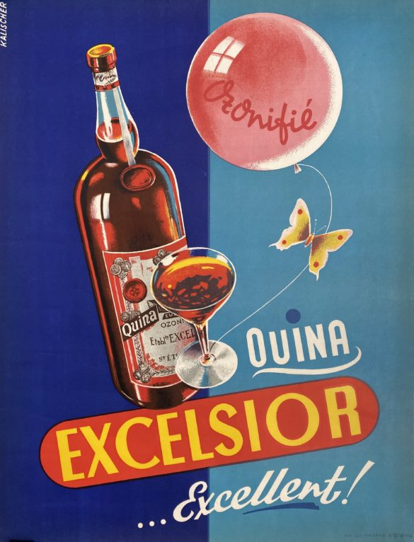 affiche ancienne Excelsior